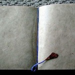Large Chocolate Handmade Himalayan Eco-friendly Bamboo Leaf Design Journal Book