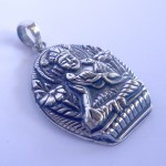 Tibetan White Tara Goddess Pendant