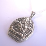 Tibetan White Tara Goddess Necklace