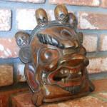 Hand Carved Tibetan Ritual Masks