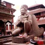 GARUDA DEITY DURBAR SQUARE KATHMANDU