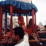 KUMARI GODDESS PARADES IN KATHMANDU