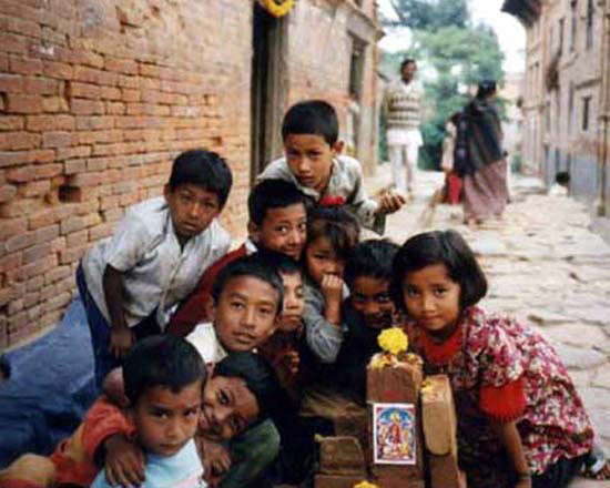 DHULIKHEL KIDS with LAXSMI FESTIVAL OF LIGHTS SHRI
