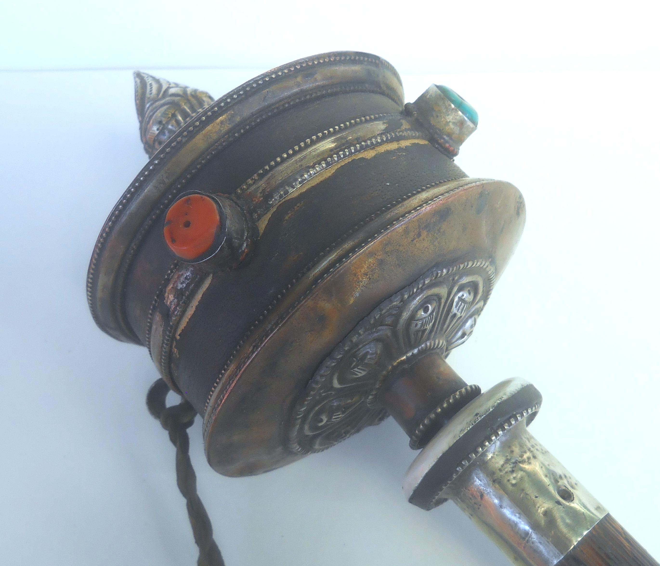 Antique Tibetan Prayer Wheel