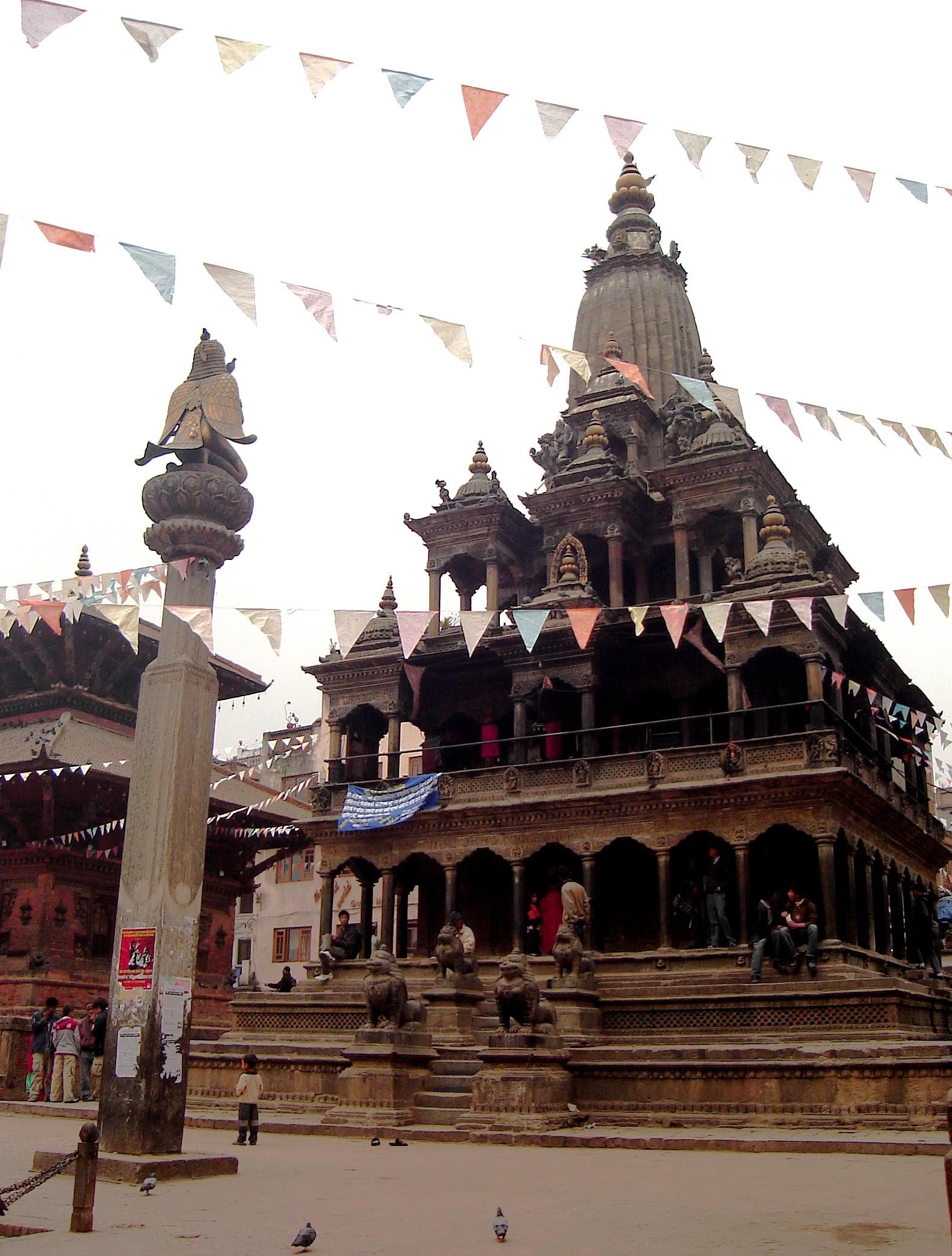 AMAZING TEMPLE PATAN NEPAL DURBAR SQUARE