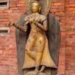 GOLDEN TIBETAN VAJRA YOGINI GODDESS BHAKTAPUR NEPAL
