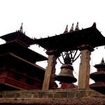 BIG BELL & PAGODA TEMPLES PATAN NEPAL
