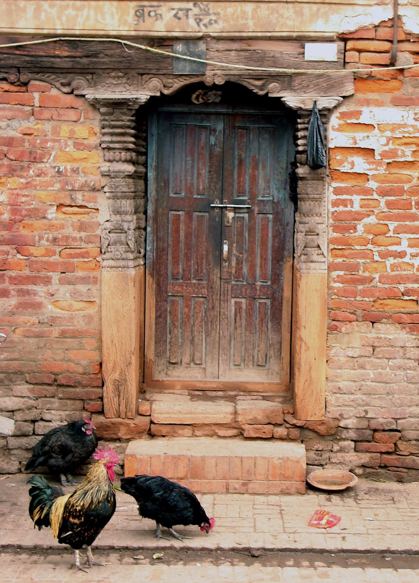 ANCIENT BUILDINGS IN KATHMANDU