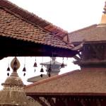 TEMPLE BELLS HANGING ON PAGOTA IN PATAN