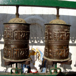 PRAYER WHEELS OF SWAYAMBHUNATH STUPA