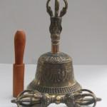Large Tibetan Bell & Dorje Vajra