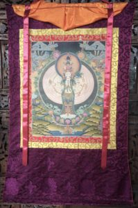 Tibetan Avalokitshivara 1000 arms of Compassion